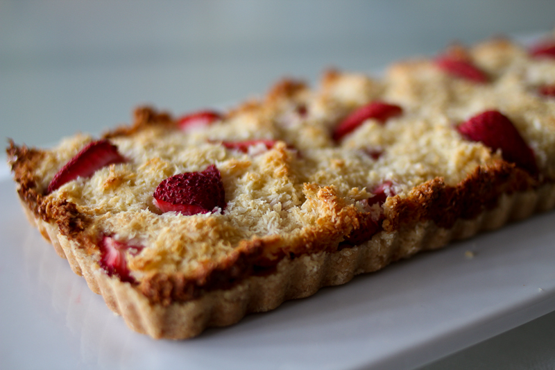 Blackberry And Coconut Macaroon Tart Recipes — Dishmaps
